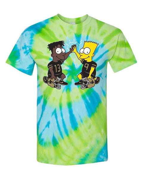 "For All To Envy ""Dynamic Duo!"" Tie Dye T-Shirt"