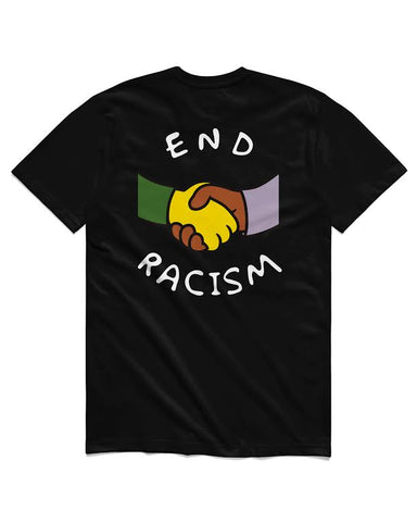"""For All To Envy """"End Racism"""" T-Shirt"""