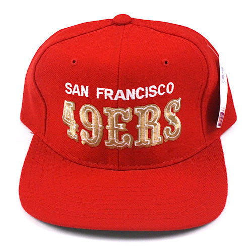 Vintage Snapback Snap Back Hat San Francisco 49ers Forty Niners Curve Block  90 s Wool New With Tags NWT NFL Football SF – For All To Envy 91905a9593a