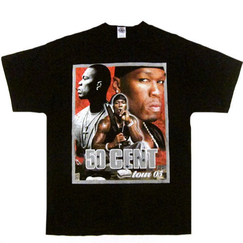 Vintage 50 Cent G-Unit 2005 Tour T-Shirt