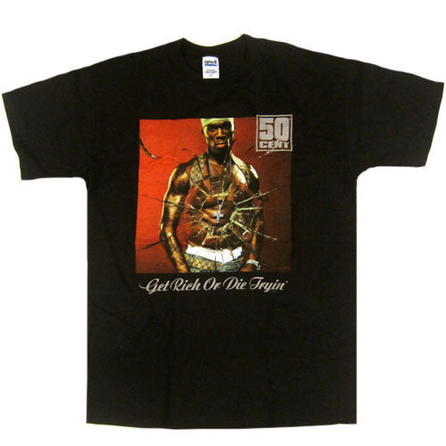 Vintage 50 Cent Get Rich Or Die Tryin' T-Shirt