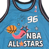 Vintage Autographed 1996 NBA All Star Champion Jersey