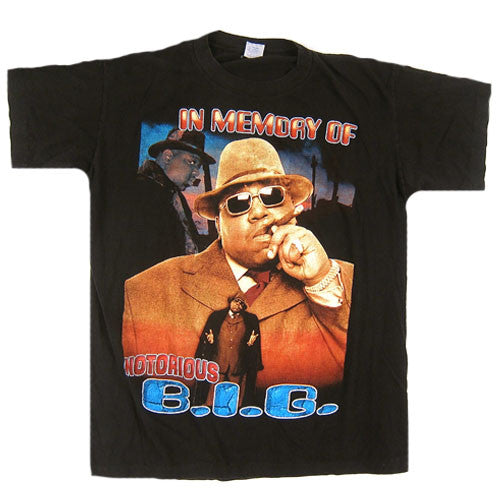 3bc7fffb0e4 Vintage Notorious B.I.G. Life After Death T-Shirt Biggie Smalls Bad Boy Hip  Hop Rap T Shirt 90 s – For All To Envy
