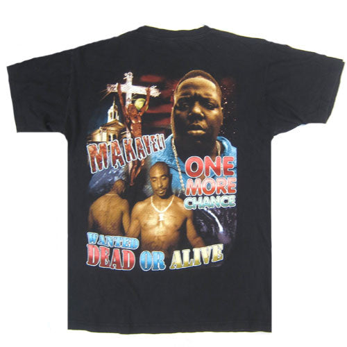 dd3bb835a Vintage Notorious B.I.G. Tupac Shakur T-Shirt Hip Hop Rap T Shirt 90's For  All To Envy – For All To Envy
