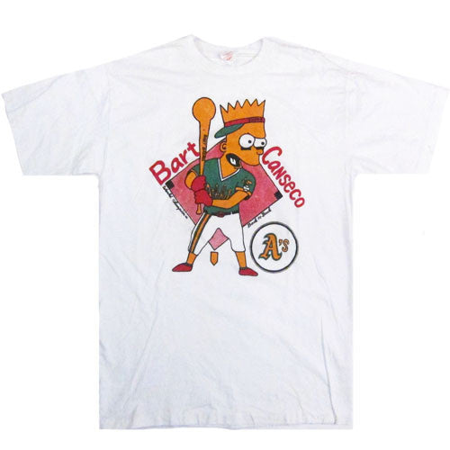 Vintage Bootleg Bart Canseco Athletics T-shirt