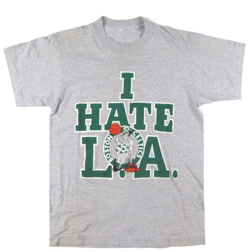Vintage Boston Celtics I Hate L.A. T-Shirt