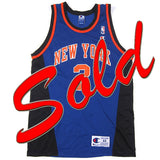 Vintage Larry Johnson NY Knicks Jersey