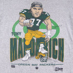 Vintage Tony Mandarich Green Bay Packers Caricature T-shirt