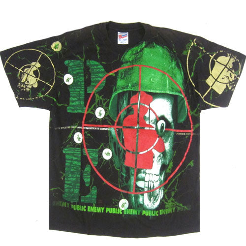 Vintage Public Enemy Apocalypse 91... The Enemy Strikes Back	T-Shirt