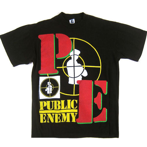 Vintage Public Enemy What Side You On? T-shirt