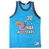 Vintage Shaquille O'neal Shaq 1996 All Star Champion Jersey