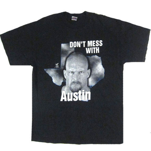 Vintage Stone Cold Don't Mess With Austin 3:16 T-Shirt