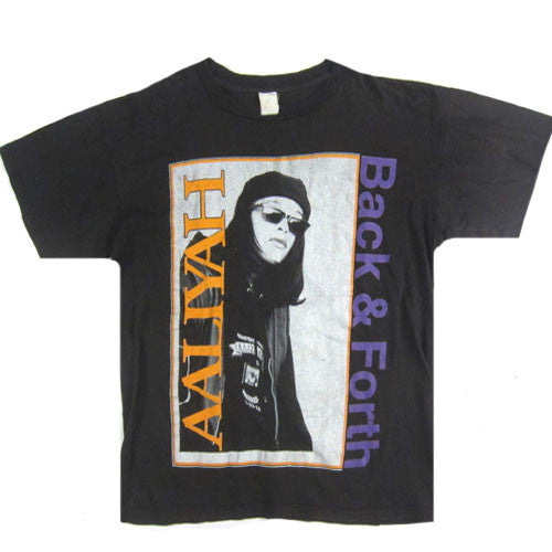 Vintage Aaliyah Back & Forth T-Shirt