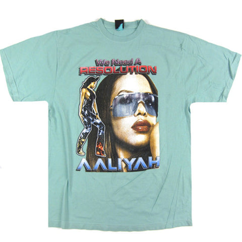 Vintage Aaliyah We Need A Resolution T-Shirt