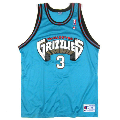 Vintage Shareef Abdur-Rahim Vancouver Grizzlies Champion Jersey