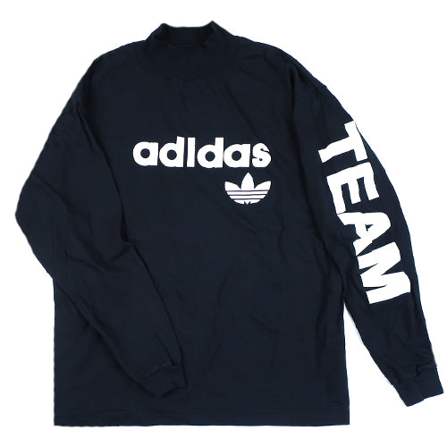 be678e5d328c5 Vintage Adidas Team Mock Neck Long Sleeve T-Shirt 90s – For All To Envy