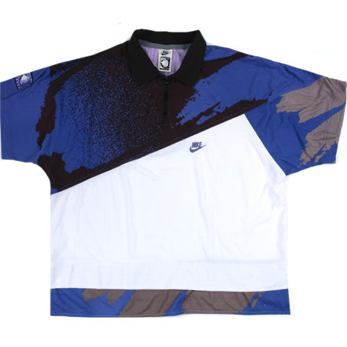 huge selection of fc662 5b189 Vintage Nike Challenge Court Andre Agassi Polo Shirt Tennis 90s Air Tech  Challenge ATC – For All To Envy