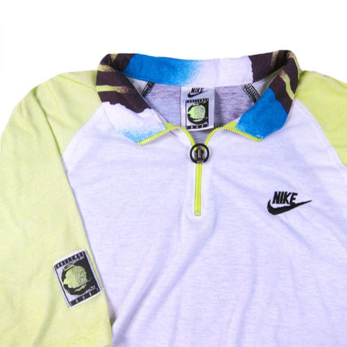 3d77bc77 Vintage Nike Challenge Court Andre Agassi Polo Shirt Tennis 90s Air Tech  Challenge ATC – For All To Envy