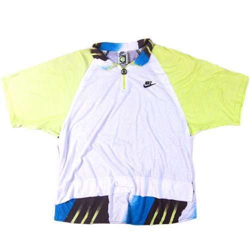 93fc8187 Vintage Nike Challenge Court Andre Agassi Polo Shirt Tennis 90s Air ...