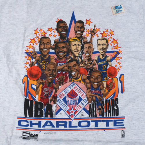 Vintage 1991 NBA All Star Weekend T-shirt