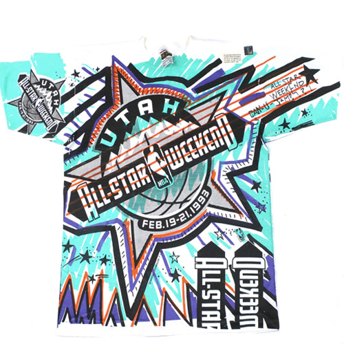 Vintage 1993 NBA All Star Weekend T-shirt