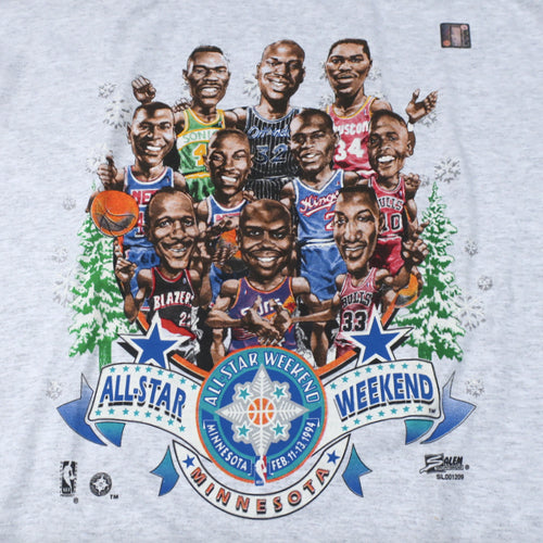 Vintage 1994 NBA All Star Weekend T-shirt