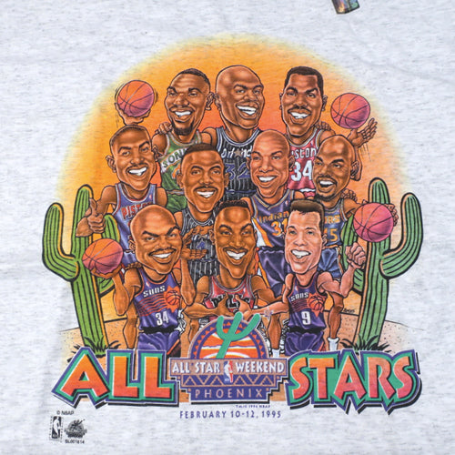 Vintage 1995 NBA All Star Weekend T-shirt