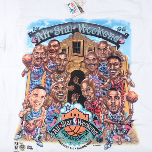 Vintage 1996 NBA All Star Weekend T-shirt