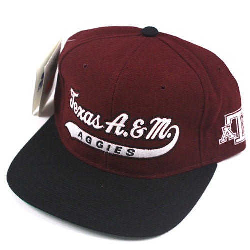 Vintage Texas A&M Aggies Starter snapback hat NWT