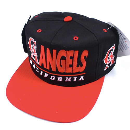 Vintage California Angels Snapback Hat NWT