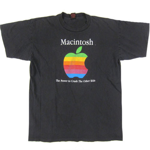 Vintage Macintosh The Power To Crush Other Kids T-Shirt