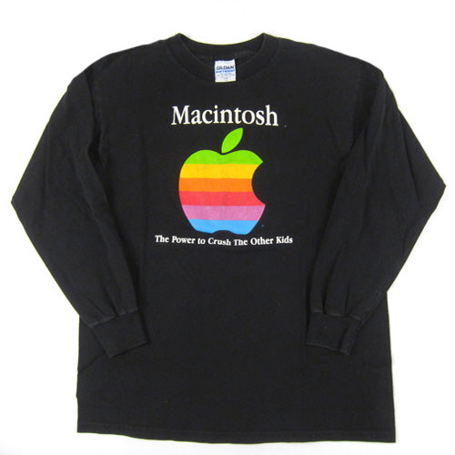 Vintage Macintosh Apple The Power To Crush Other Kids T-Shirt
