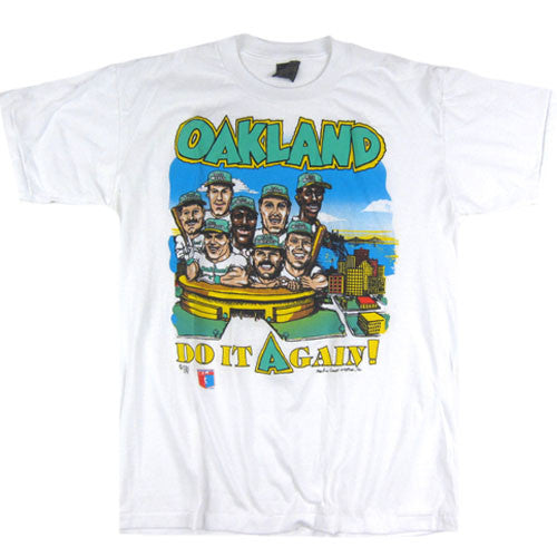 Vintage Oakland Athletics A's Caricature T-shirt