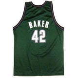 Vintage Vin Baker Milwaukee Bucks Champion Jersey