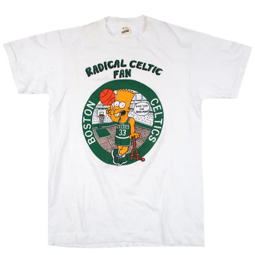 Vintage Bootleg Bart Radical Celtic Fan T-shirt