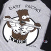 "For All To Envy ""Bart Knows"" Baseball Shirt"