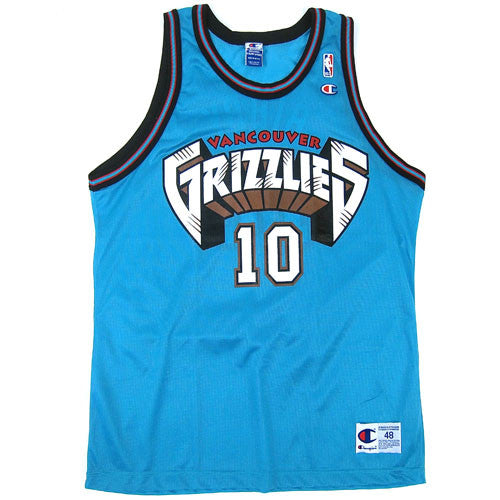 Vintage Mike Bibby Vancouver Grizzlies Champion Jersey NWOT 90s NBA  Basketball – For All To Envy 4fa8cf9ca