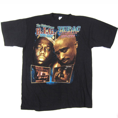 Vintage Notorious BIG x Tupac Shakur T-Shirt