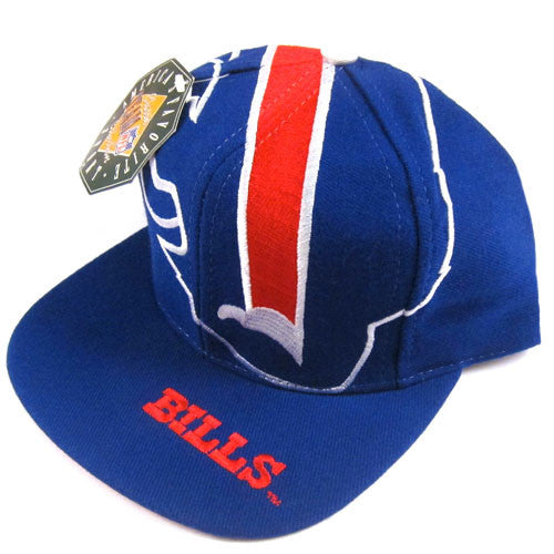 Vintage Buffalo Bills The Game Big Logo Snapback Hat