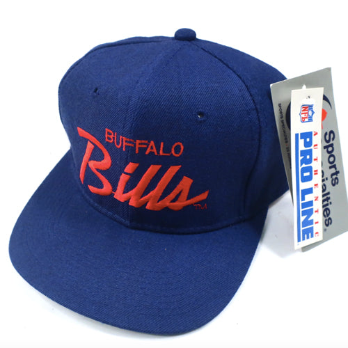 Vintage Buffalo Bills Sports Specialties Hat NWT