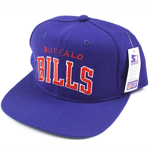 0128a2fb43f Vintage Buffalo Bills Starter snapback hat NWT – For All To Envy