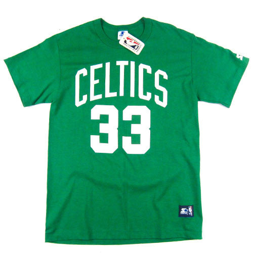 Vintage Boston Celtics Larry Bird Starter T-shirt