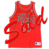 Vintage BJ Armstrong Chicago Bulls Champion Jersey