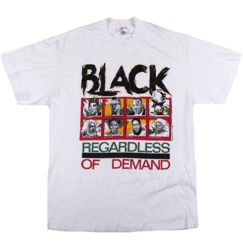 Vintage Black Regardless of Demand T-shirt