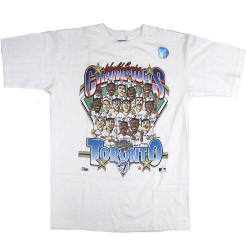 Vintage Toronto Blue Jays 1992 Champs Caricature T-shirt