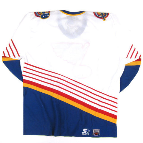 reputable site 30639 696d5 Vintage St. Louis Blues Starter Hockey Jersey NWT – For All ...