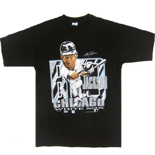 Vintage Bo Jackson Chicago White Sox Caricature T-Shirt