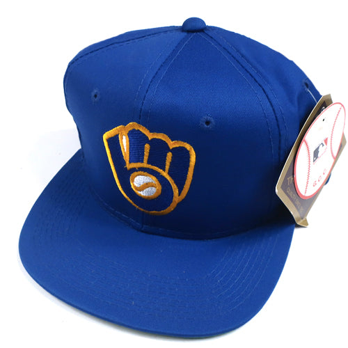 Vintage Milwaukee Brewers Snapback Hat 67610073e38