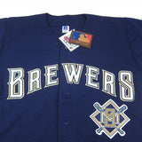 Vintage Authentic Milwaukee Brewers baseball jersey NWT