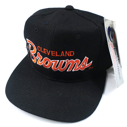 c10ecc76456 Vintage Cleveland Browns Sports Specialties Hat NWT